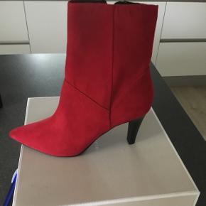 Røde støvler str 39 aldrig brugt