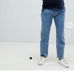 Graviditetsbukser med elastisk bånd i taljen, så de er meget behagelige, og vil også kunne bruges af en størrelse 48.