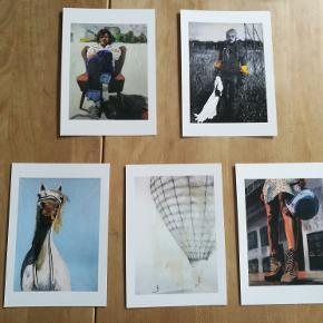 Postkort. A5 på kraftigt papir Pakker med 5/120,-  10/200,-  20/300,-  Tjek motiverne på annerisum.bigcartel. com