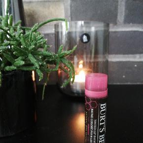 Burt's Bees farvede læbepomader er 100 % naturlige. Tilfører læberne farve, fugt og næring. Indeholder Ylang-Ylang, Jasmin, Bivoks, Shea Butter og Vitamin E.  Med hibiscus, 4,25 g