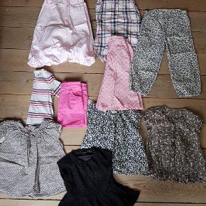 Super fin Tøjpakke til pige str 98.  Forskillige mærker som Pompdelux,  Kids up, Name it,Enfantino, H&M.  Stand er nsn.  Sælges kun samlet