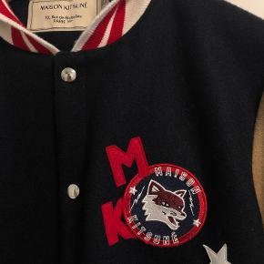 Maison Kitsuné Varsity Jacket Str. M Brugt få gange