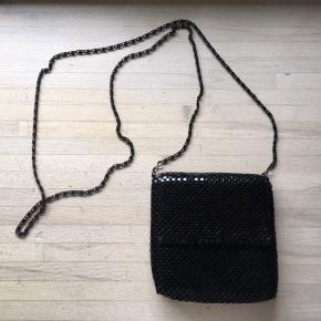 Fin taske med glimmer.