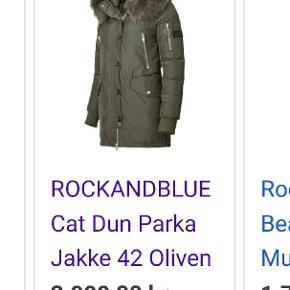 Rock and blue jakke