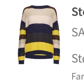 Superlækker sweater i striber