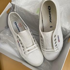 Superga sneakers, aldrig brugt. Ingen bytte.