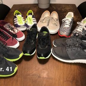 Nike Adidas Asics Vans