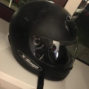 Scooter/knallert/motorcykel hjelm til salg.
