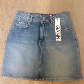 Ganni mini denim skirt