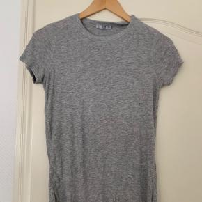 Zara ribbet tshirt i grå  #Secondchancesummer