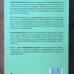 Sundhedsvæsenet på tværs - nyeste udgave.  Bruges på sygeplejerske-uddannelsen.  Sendes ikke.