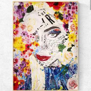 Art by Bisse. Collagekunst. Sælges som print i lækkert 170 g. papir. (uden ramme)  300 kr. for afhentning i Århus/330 kr. inkl fragt. Lady gaga plakat A2. (420x594 mm)   💥Følg gerne min instagram artbybisse, som bliver opdateret løbende. 🙂  💥http://www.facebook.com/artbybisse  Tags: Lady gaga, kunst, plakat, poster, Urban, artbybisse, graffiti, collage
