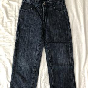 flotte denim Bukser / jeans. Brugt få gange. indvendig benlængde ca 41 cm.