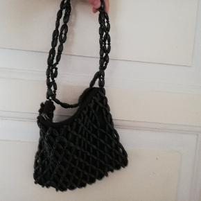 Vintage taske med perler, så fin