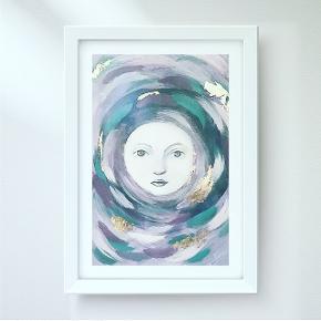 La Luna illustration.