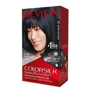 Revlon Colorsilk permanent hårfarve i lækker blåsort farve.   Jeg har 4 pakker til salg, og annoncen gælder dem alle.   Porto kommer oveni. Ingen bytte.  #30dayssellout