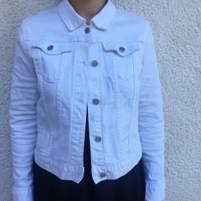 Hvid cowboy jakke