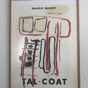 Galerie Maeght - Tal-Coat plakat  Rammen er fra Søstrene Grene SKAL afhentes
