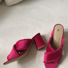 Flotte pink Block heels fra h&m