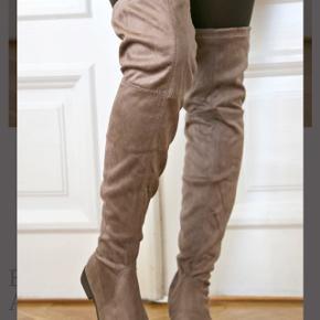 Army grønne overknee støvler. Brugt en gang, derfor som nye. Str 37