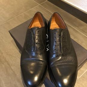 Brugt 1 gang. Lækre italienske sko med lædersål