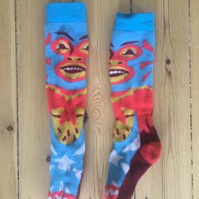Lækre skisokker/strømper fra Burton med fedt mønster