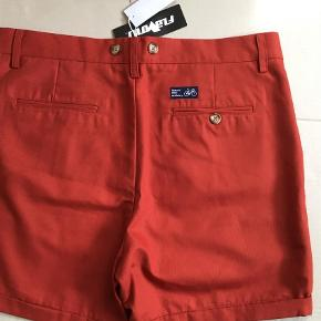 Rascals Button Shorts   Fast pris  Farve: Brændt Orange