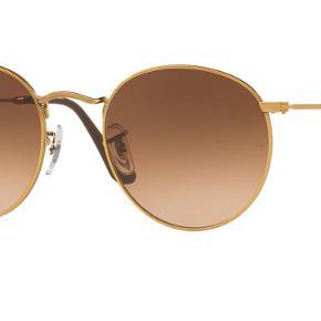 Rayban sunglasses round metal unisex, aldrig brugt. Medfølger etui og ubrugt brilleklud