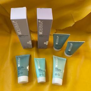 MDerma pakke sælges - aldrig brugt 😊 Face 21 og Face 11 fullsize (50ml i hver) - de andre er forskellige cremer. Samlet pris 😊