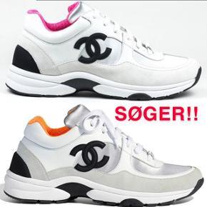 Hey, Jeg søger de her Chanel sneaks sååå meget og er virkelig intra - hvis du ligger inde med et par;) Jeg søger: - Pink eller orange - Str 37 eller 38 Knus❣️