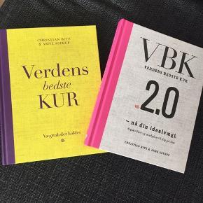 """To stk. bøger af """"verdens bedste kur""""."""