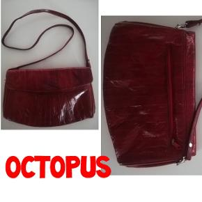 Octopus skuldertaske