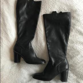 Støvler, str. 36, Billi bi, Super flot lang sort
