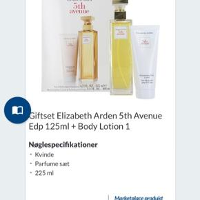 Elizabeth Arden - 5 th Avenue 125 ml EDP + Body Lotion 100 ml  Prisen er fast.