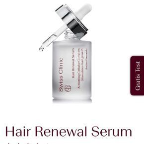 Hair Renewal Serum fra Swiss Clinic. Som ny. Sælges da jeg ikke får den brugt.