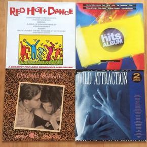 Diverse kunstnere LP'er, 20kr stk