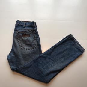Vintage Wrangler jeans Mørkeblå Str 32/34