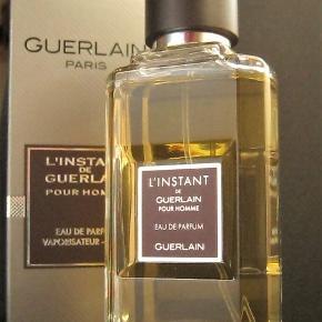 L'Instant de GUERLAIN Pour Homme Eau de Parfum Spray fra GUERLAIN 50ml. Købspris 670kr. Kun testet, købt i november.