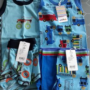 2 sæt Joha undertøj str 140, 2 undertrøjer og 3 par boxershorts. nye der havde gemt sig ??med seje motiver.