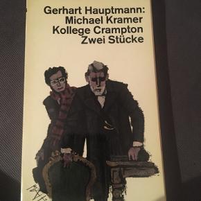 Gerhart Hauptmann, på tysk, sender ikke