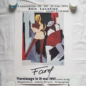 Måler 43 x 60 cm  Jeg sælger ud af min families store samling af plakater, der er samlet over mange år  Alle plakater er kun til afhentning på Teglholmen