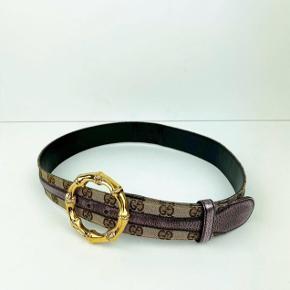 Lækkert unikt Gucci vintage bælte str 85. Evt bytte med andet Gucci bælte str 90/95 - eller Gucci tørklæde.