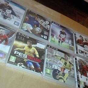 Sælger disse spil til PlayStation 3 til 150 kr samlet, ellers spørg for pris enkeltvis, køber betaler porto 😊