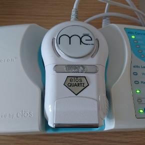 IPL Hårfjerning, HoMedics Me My Elos Quartz IPL   Permanent Hair Removal System Combination of IPL and RF waves Quartz lamp with 120 000 shots recently installed so almost full (see photo - still at 100%) Used Comes with a carry/storage bag