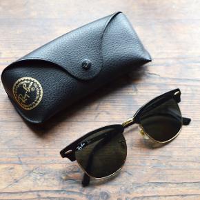 Nærmest helt nye Clubmaster RayBan sollerbriller. Brugt meget få gange