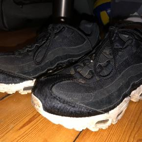 Pony hair Nike air max. Accepting BYDS See damages in photo!  They are a little shabby but work perfectly fine.