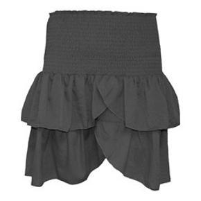 Første billede er bare et billede af modellen af nederdelen. Den er fuldstændig magen til, bare i grå .🌸