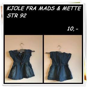 Kjole fra Mads & Mette str 92