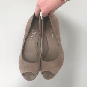 Lysebrune Sofie schnoor sko. De er i rigtig pæn stand da de aldrig har været brugt. Skriv for mere info