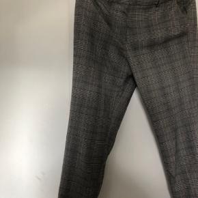 Fine suit bukser i flor tern